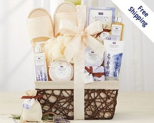 A Day Off Gift Basket<b><br>FREE SHIPPING! from Flowers All Over.com