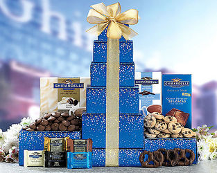 Ghirardelli Tower<b> from Flowers All Over.com