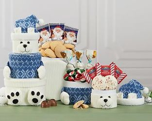 Polar Bear Tower<br><b>FREE SHIPPING!! from Flowers All Over.com