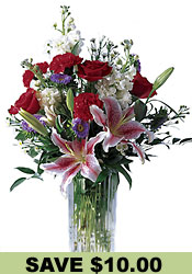 Sweeter Than Sugar Bouquet  from Flowers All Over.com