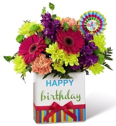 Happy Birthday To You!<br><b>FREE DELIVERY from Flowers All Over.com