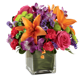 Birthday Blast<br><b>FREE DELIVERY from Flowers All Over.com