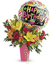 Celebrate The Day!<br><b>FREE DELIVERY from Flowers All Over.com