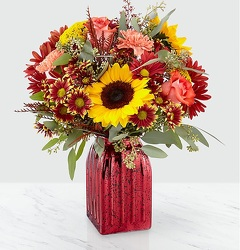 FALL HARVEST BOUQUET<BR><B>FREE NEXT DAY DELIVERY from Flowers All Over.com