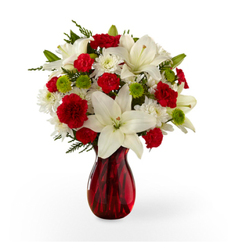 Season's Greetings <BR><B>FREE NEXT DAY DELIVERY from Flowers All Over.com