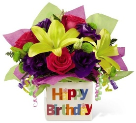 Happiest Birthday<br><b>FREE DELIVERY from Flowers All Over.com
