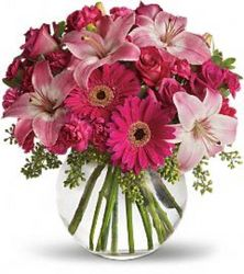 Precious Pinks<B> from Flowers All Over.com
