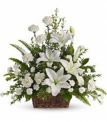 Basket of Tranquility<br><b>FREE DELIVERY from Flowers All Over.com