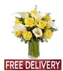 Sunny Celebration Bouquet<br><B>FREE NEXT DAY DELIVERY