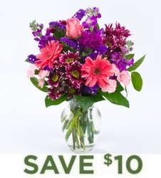 Purple Passion<br><b>Free Vase from Flowers All Over.com