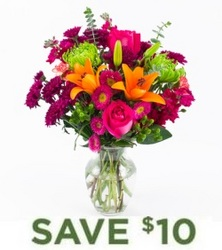 Sweet Sentiments<br><b>with FREE Vase from Flowers All Over.com