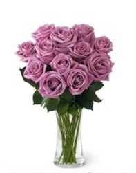 Lavender Rose Bouquet<BR><B>FREE NEXT DAY DELIVERY from Flowers All Over.com