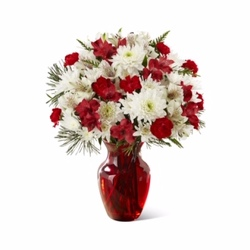 Yuletide Bouquet<BR><B>FREE NEXT DAY DELIVERY from Flowers All Over.com