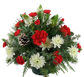 Holiday Basket of Cheer<br><b>FREE Same Day Delivery from Flowers All Over.com