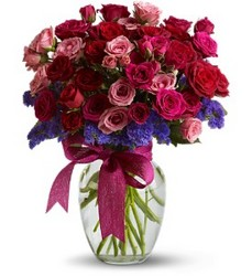 Fabulous Flirt Bouquet from Flowers All Over.com