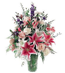 Star Gazer Bouquet<b> from Flowers All Over.com