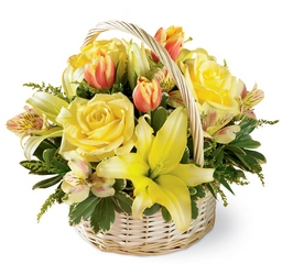 Garden Spring Basket<b> from Flowers All Over.com