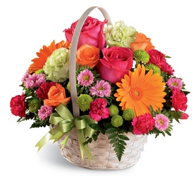 Summer Sunshine Basket<b> from Flowers All Over.com