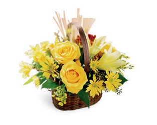 Autumn Beauty Bouquet<b> from Flowers All Over.com