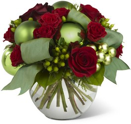 Holiday Bliss Bouquet from Flowers All Over.com