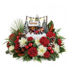 Thomas Kinkade's<BR> Family Tree Bouquet <b> from Flowers All Over.com