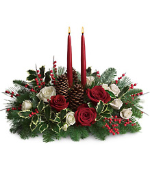Holiday Centerpiece<b> from Flowers All Over.com