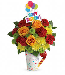 Happy Birthday Party<br><b>FREE DELIVERY from Flowers All Over.com