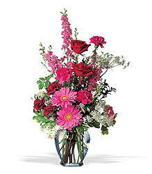 Pretty In Pink<b> from Flowers All Over.com