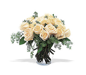 Winter White Roses from Flowers All Over.com