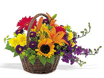 Thank You Basket<b> from Flowers All Over.com
