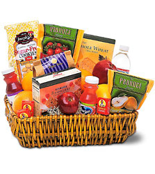 Gourmet Food Basket<B> from Flowers All Over.com