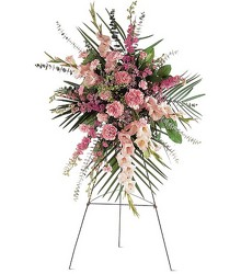 Pink Remembrances<br><b>FREE DELIVERY from Flowers All Over.com